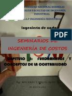 Seminarios de Ingeniería de Costos Capitulo i