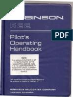 R22 Pilot´s Operating Handbook