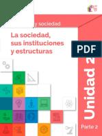 Contenido en extenso Módulo 8 - Ser Social y Sociedad y Sociedad - Unidad 3 - Prepa en línea - SEP México.