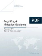 Food Fraud Mitigation Guidance