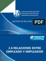 2 6 Relaciones Entre Empleado y Empleador