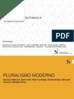 Pluralismo Moderno