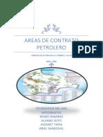 Areas de Contrato Petrolero