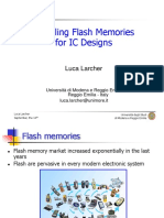 modeling flash memories