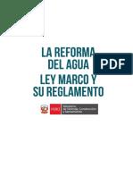Ley y Reglamento La Reforma Del Agua