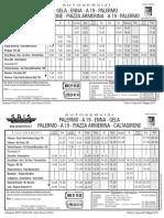 Gela Caltagirone p.armerina Enna Palermo in Vigore 05-05-2014