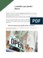 9 Negocios rentables que puedes iniciar sin dinero.pdf