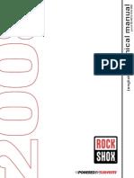 Rockshox Service Manuals 2009