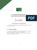 MATHEMATIQUES Terminale SUITES Convergence Divergence