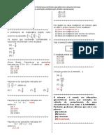 D25Efetuar cálculos que envolvam operações com números racionais.doc