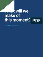 IBM ANUANL MAGNAMENT