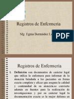 Registros de Enfermería