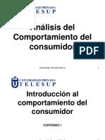 Analisis Del Comportamiento Del Consumidor