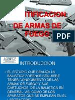 Identificacion de Armas de Fuego