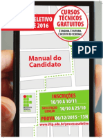 Manual Do Candidato Ifsp 2016