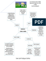 Guía de Aprendizaje 4 - Mapa Mental Registro de Cuentas Contables