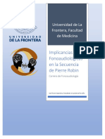 Sindrome de Pierre Robin Revision Bibliografica Fonoaudiologia