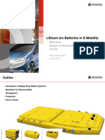 Lithium Ion Batteries in e Mobility