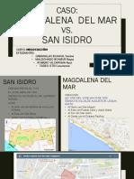GRUPO 1 Caso San Isidro vs Magdalena Del Mar