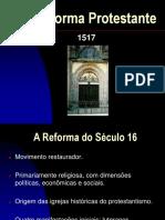Reforma Protestante Movimentos e Solas