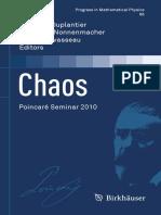 Chaos Poincaré Seminar