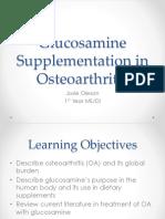 oa and glucosamine