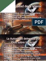 La Autoridad de La Iglesia