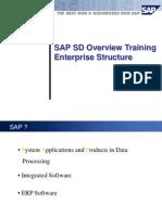 SD Overview Enterprise Structure
