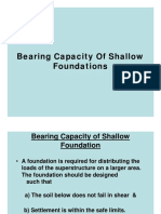 Bearing Capacity-Shallow Foundation