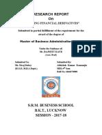 OK-working Financial Derivatives - Abhishek Kumar Kannaujia