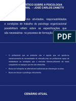 Um olhar críticosobre a Psicologia Organizacional - José Carlos Zanetti