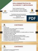 Carrera Administrativa y Empleo Público (2)