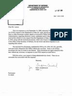 Larson FOIA- DOD- Interrogation Records Re Zelikow