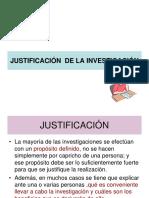 Justificacion de La Investig.
