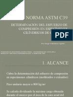 NORMA ASTM C39