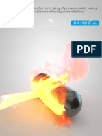 Analysis of the Application and Sizing of Psv for Fire Protection
