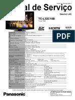 PANASONIC+TC-L32C10B+Chassis+KM02+(Manual+de+Serviço)