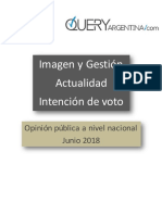 Gestion y Expectativas Junio 2018