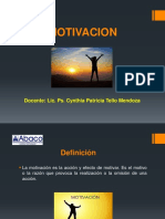 t - 9 La Motivacion