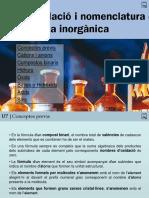 07 Formulació i Nomenclatura de Química Inorgànica