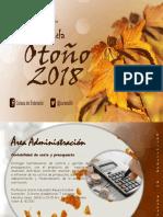 Cursos Talleres Temp Otono 2018