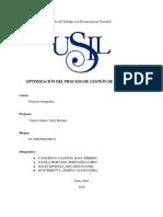 Optimización Del Proceso de Gestión de Incidentes