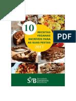 10 Receitas Veganas Para Festas
