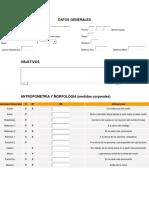 Formato de Evaluación Física e Historial Clinico