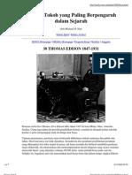 038 - Thomas Alva Edison