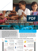 El Sector Privado y La Prevencion de La Violencia Contra Los Ninos y Ninas en Lac - Esp