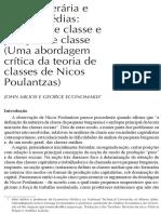 Milios e Economakis Classe Operária e Classes Médias Debloqueado Cropped