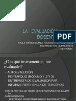La Evaluación Docente Clase 1 Coquimbo 28 Julio 2017 (1)