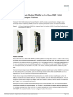 40-Channel Single-Module ROADM for the Cisco ONS 15454 Multiservice Transport Platform