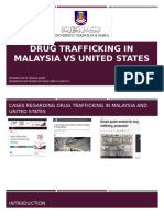 Drug Trafficking in Malaysia vs United States